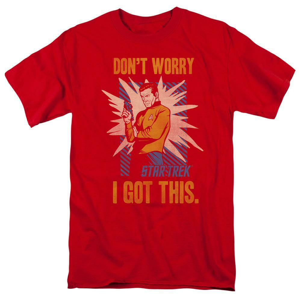 Star Trek t-shirt Don't worry I got this classic TV graphic tee CBS1379