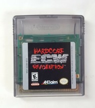 ECW Hardcore Revolution - Nintendo Gameboy Color Video Game Cartridge 1998 GB - $10.84