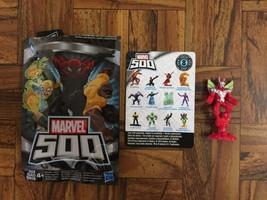 -Marvel 500 Series 8 MARVEL'S ULTIMATE (RED) BEETLE Figure NEW! - $4.94