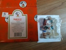 Vintage Disney Enesco 195626 Wishing You A Dream Come True Mickey With Ice - $19.75
