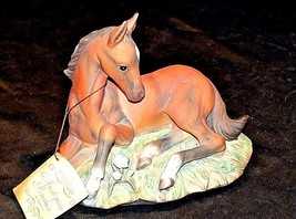 Porcelain Filly Horse Figurine HOMCO 1982 MEXICO AA18-1348 Vintage