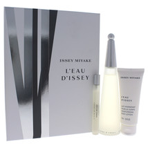 Issey Miyake Leau Dissey 3  Pc Gift Set - $155.96