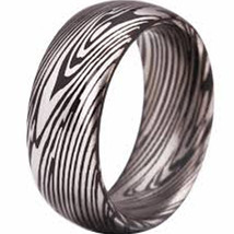 coi Jewelry Tungsten Carbide Damascus Wedding Band Ring-308 - $69.99