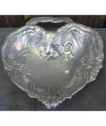 Arthur Court Heart Shaped Bunny Rabbit Daffodil Bowl - $12.99