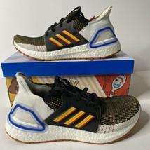 Adidas Ultraboost 19 Size 6y 7.5 Women Disney Toy Story 4 Woody Running Sneakers - $70.11