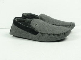 Steve Madden Men's Fire Grey Moccasin Slippers Choose Your Size - $19.98