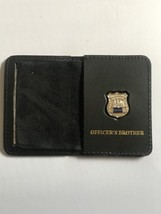 Police Officer Brother Generic Mini Shield  Leather ID Wallet - 2018 - $23.76