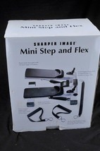 Mini Step And Flex  Model By Sharper Image Compact Stepper - $82.80
