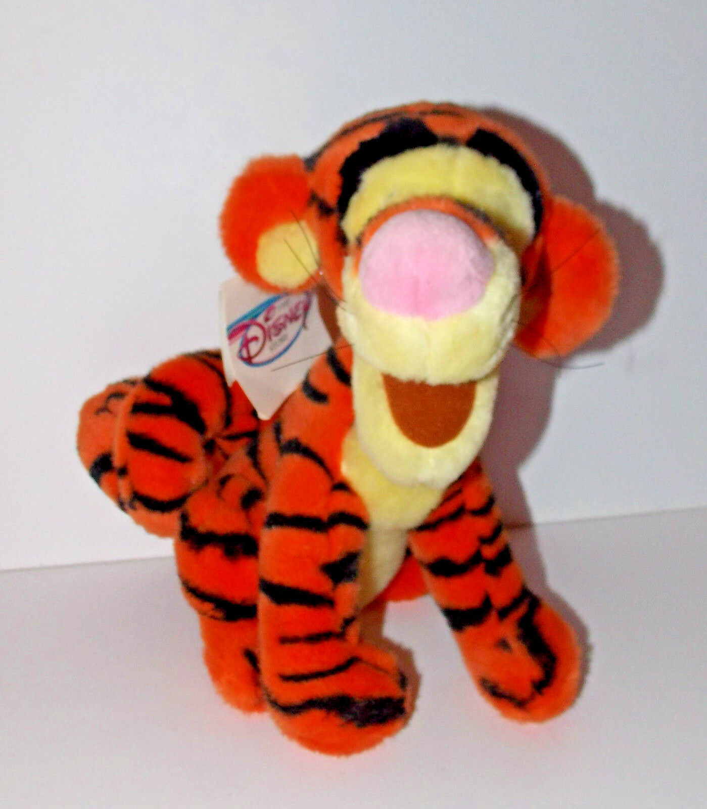 Primary image for Winnie the Pooh Tigger Plush 10in Disney Store Curly Tail Stuffed Animal Tiger