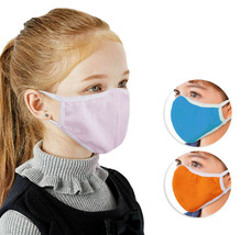 Kids Reusable Washable Outdoor Cloth Protection Toddler Face Cover Stretch Mask