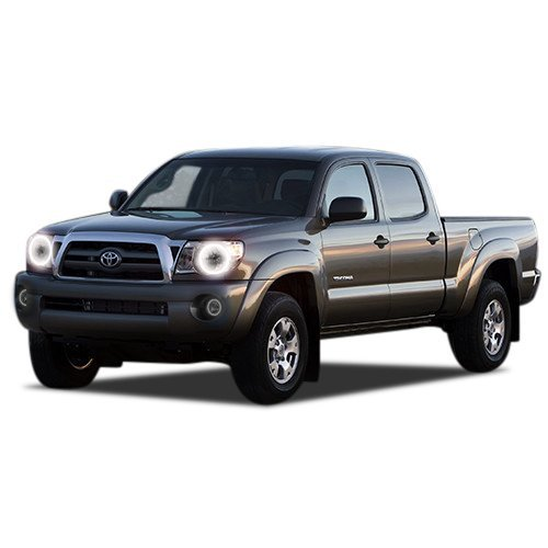Primary image for FLASHTECH for Toyota Tacoma 05-11 Xenon Brightest White LED Halo Ring Headlight