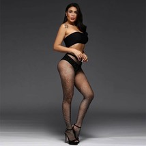 Tights Shiny For Woman Glitter IN Nylon/Tights To Fishnet Evening Sexy - $10.31
