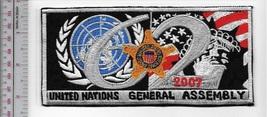 US Secret Service USSS New York  UN General Assembly 2007 Agent Service Patch  - $11.99