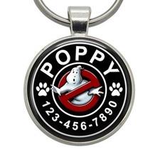 Pet ID Tag - Ghostbusters - Dog ID Tag, Cat ID Tag, Pet Tag, Dog Tag, Ca... - $19.99