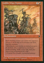 Magic: The Gathering - Fallen Empires - Goblin War Drums (D) - $0.25