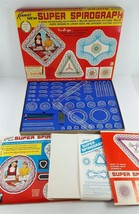 Kenner's SUPER SPIROGRAPH Plus #2400 1969 w/ Refill Kit VGUC - $38.61