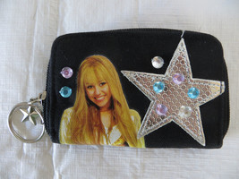Disney Hannah Montana Black Coin Purse - $4.99