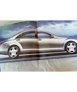 2008 mercedes s63 amg s600 s550 owners sales brochure w220 s class origi... - $24.74