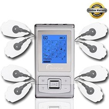 FDA cleared TENS Massager Unit TechCare 9 Modes 2 in 1 dual AB channels ... - $29.65