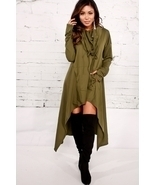 Fall In Love Hoodie Olive - £32.81 GBP+
