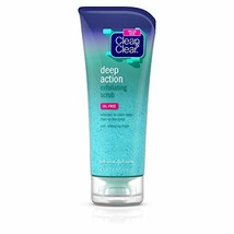 Clean & Clear Oil-Free Deep Action Exfoliating Facial Scrub, Cooling Fac... - $8.03