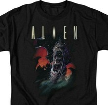 Alien movie t-shirt retro sci-fi horror film 100% cotton graphic tee TCF285 image 2