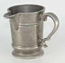 Vintage WILTON Armetale Side Spout Pewter Pitcher Plough George III Rare RWP - $60.00