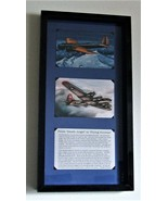 """History of B-9 to B-17 WWII Aircraft Framed 5"""" X 7"""" Prints in a Black Frame - $69.25"""