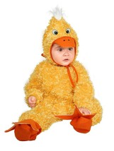Charades Baby Little Chick Costume, Yellow, X-Small - $116.56