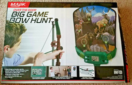 Majik Over The Door Electronic Big Game Bow Hunting Game  Practice your ... - $37.13