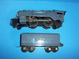 Lionel Prewar O Gauge 259E Steam Engine & Tender Repainted - $39.99