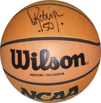 David Robinson signed NCAA Indoor/Outdoor Basketball (Navy Midshipmen)- JSA Holo