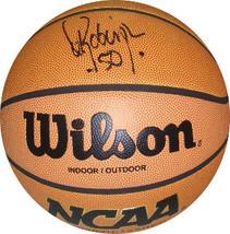 David Robinson signed NCAA Indoor/Outdoor Basketball (Navy Midshipmen)- ... - £179.80 GBP