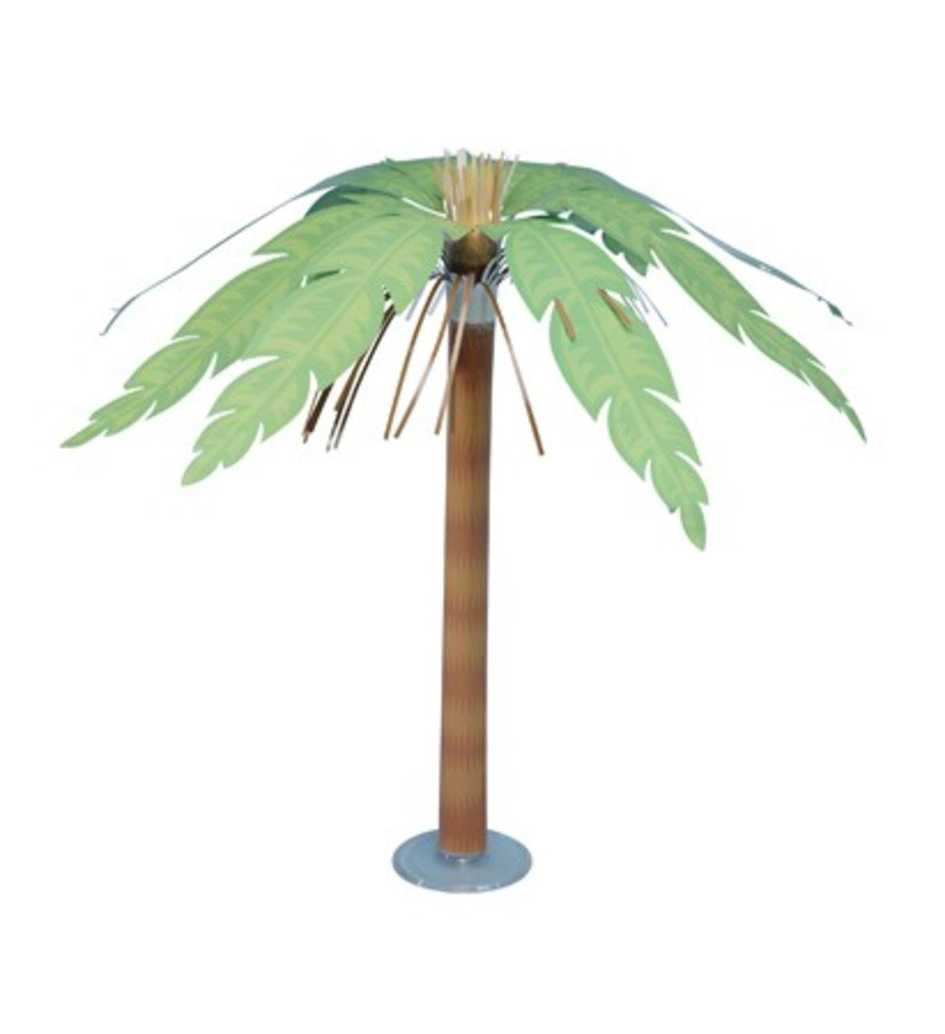 Pack of 6 Tropical Party Palm Tree Paper Centerpieces 15""