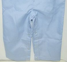 Ellie O Gingham Full Lined Longall Size 12 Months Color Blue image 6