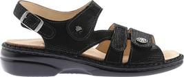 Comfort NEW Women's Soft Shoes Gomera Black in Finn Points 255 Sandals fx4q7CwAnA