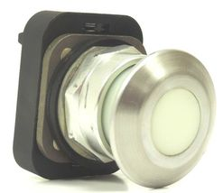 ALLEN BRADLEY 800T-FXP16 A1 PUSHBUTTON W/ WHITE CAP LAMP 755/1866, SER. T image 3