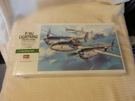 Hasegawa P-38J Lightning Virginia Marie Fighter 1/48 Scale Model Kit #09101 - $49.50