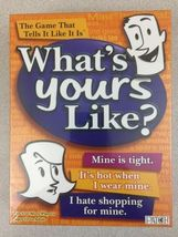What's Yours Like? Board Game [New] - $29.99
