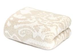 Kashwere Damask Malt and Cream Throw Blanket - €144,02 EUR