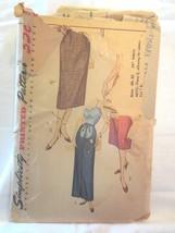 "Simplicity 4004 Vtg 1950's Women's Maternity Skirt SZ S Waist 24""  Complete - $10.00"
