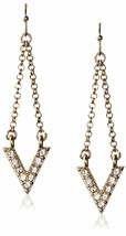 Cohesive Jewels Pierre Zircone Cristal Imi Or V Pendantes Oreilles Nwt