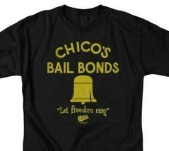 Bad News Bears T-shirt Chicos Bail Bonds 1970's movie retro cotton tee PAR133 image 2