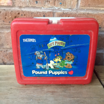 Pound Puppies Lunch Box, 1980's - $15.83