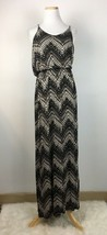Lush Women's Brown Spaghetti Strap Floor Length Maxi Dress Size Medium  - $16.82