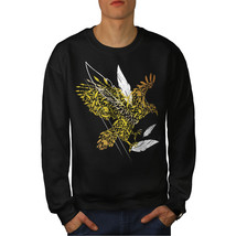 Bird Feather Fly Nature Jumper  Men Sweatshirt - $18.99+