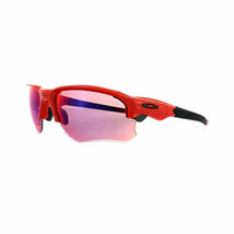 Oakley Sunglasses Flak Draft OO9364-05 Infrared Prizm Road Red Frame - $118.78
