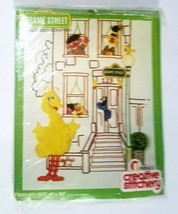 Sesame Street Scene Big Bird Needlecraft Kit #175 Friends Creative Stitc... - $29.68