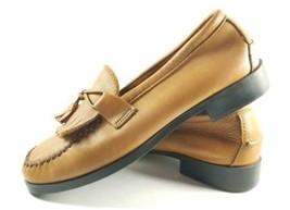 Dexter Comfort Kiltie Tassel Loafers Women's Sz 8W Brown Leather Shoes (... - $29.99