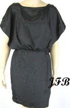 Jessica Simpson Women Black Blouson Knee Length Dress Size 6 $128 New 7089 - £24.68 GBP